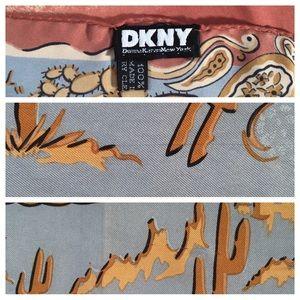 DKNY Accessories - DKNY Cowgirl Silk Scarf